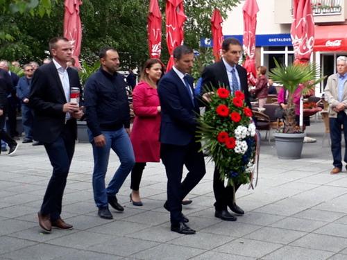Gradonačelnik Tomislav Rob sa suradnicima